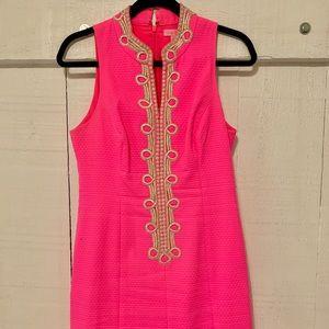 Lilly Pulitzer Hot Pink Shift Dress